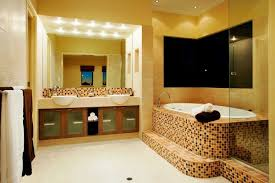 small bathroom designs with shower large dark stone tile flooring brown ceramic decorating wall white stained wood plank slopping ceiling green wall tile