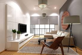 Indoor : Minimalist Interior Design And Cute In The Living Room Equipped  With Lights And Carpet Stood Under A Glass Table And Chandelier Plus A  Television ...