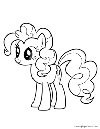 my little pony pinkie pie 02 coloring page