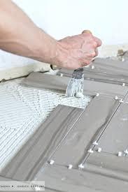 install floor tile installing ceramic tile floor over plywood