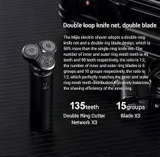 Máy cạo râu Xiaomi Electric Shaver Mijia S500 3 đầu - Hàng nhập khẩu