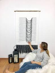woven wall hanging tissage mural