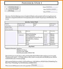 Free Payroll Stub Template Awesome Free Editable Pay Stub Template 48 Lafayette Dog Days