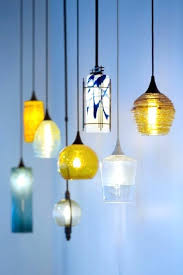 blown glass pendant shades hand blown art glass pendant lights made in the mountains of blown