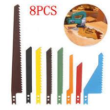 scroll saw blades for metal. 8pcs jigsaw blades sabre scroll assortment set wood metal steel drywall saw for