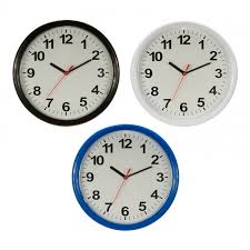 modern decoration round wall clock