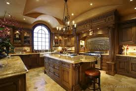 classic kitchen design.  Classic Classic Kitchen Design With Chandeliers And Wooden  Table In D
