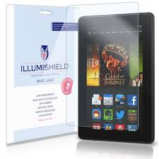Kindle Blue Light Filter Illumishield Amazon Kindle Fire Hdx 7 Blue Light Uv