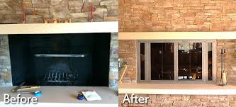glass doors on fireplace how to install a fireplace door gallery doors design modern within replacing glass doors on fireplace