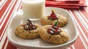 christmas cookies recipes with pictures. Simple Recipes Christmas Peanut Butter Blossoms And Cookies Recipes With Pictures Y