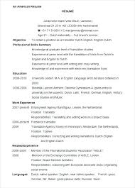 Example Of A Cv Resume Resume Sample Luxury Image Of Resume Example