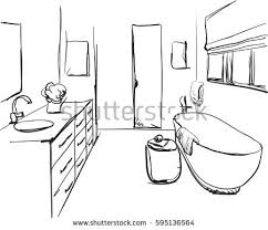 bathroom clipart black and white. Simple Bathroom Bathroom Line Clipart Black And White 2 On Bathroom Clipart Black And White