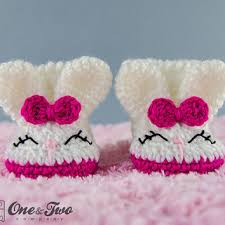 Crochet Baby Booties Pattern 3 6 Months Enchanting Shop Crochet Patterns Booties Slippers On Wanelo