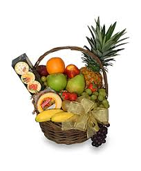 gourmet fruit basket gift basket