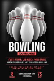Bowling Event Flyer 10 690 Bowling Event Customizable Design Templates