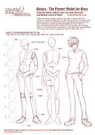 learn manga basics the male puppet by naschi on deviantart