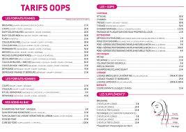 Tarif Salon De Coiffure Quebec Coiffures Modernes Et Coupes De