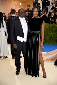 Edward Enniful and Naomi Campbell. Photo: Dimitrios Kambouris/Getty Images