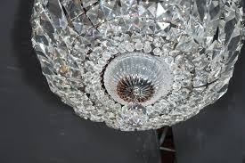 cut crystal drop down flush mount chandelier with and silvered fittings rectangular cut crystal drop down flush mount chandelier with and silvered fittings