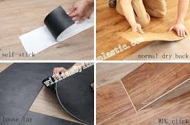 installing floating vinyl plank flooring over tile loose lay install slip back