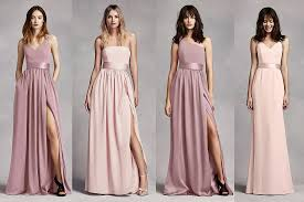 David S Bridal Design Your Wedding Party Davids Bridal Mix And Match Bridesmaids Dresses Bride Guide