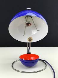 scandinavian modern verner panton vp4 original enamel flower pot table lamp for