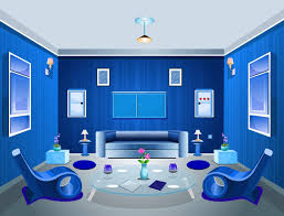 Living Room Blue Color Schemes Blue Interior Design Living Room Color Scheme Youtube