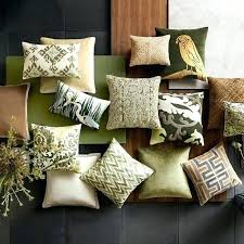 olive green pillows. Sage Green Pillows Olive Pillow Cover In Rosette Design By Throw Navy And Light