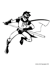 Small Picture batman robin Coloring pages Printable