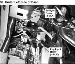 2004 acura mdx the brake lights fuse box diagram under hood passenger s under dash fuse relay box