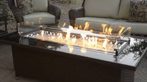 outdoor greatroom montego fire pit table with balsam wicker base at patiolivingcom youtube wicker fire pit i22