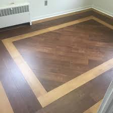 we removed the existing glue down carpet and installed a new suloor vinyl planks vinyl flooring