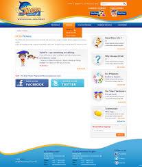 Web Design Toowoomba Qld Modern Bold School Web Design For Darren Lange Swimming