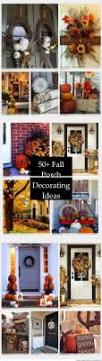 Fall Porch Decorating 616 Best Autumn Fall Porch Decor Images On Pinterest