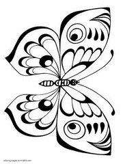 These free printable butterfly coloring pages online will not only develop your child's motor skills, but will also provide lessons on different species of butterflies. Butterfly Coloring Pages Free Printable Pictures For Kids