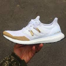 Adidas Ultra Boost Design Your Own Adidas Ultra Boost Customized With A Touch Of Gold A