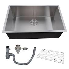 Kes 30 Inch Kitchen Sink Stainless Steel Single Bowl Undermount Deep