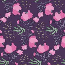 dark cute pattern wallpaper. Simple Dark Dark Night Seamless Pattern With Pink Poppy Flowers And Leaves Gentle  Contrast Hand Drawn Violet Floral Texture For Textile Wrapping Paper Print Design  Throughout Cute Pattern Wallpaper E