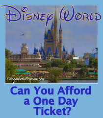 Afford Disney A - Day Can 1- World You Ticket Princess Disney's Cheapskate