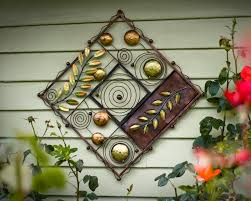 metal wall art frame on metal garden wall art australia with spiral leaf frame selao home and garden art