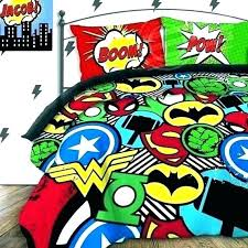 superhero bedding queen superhero bedding queen