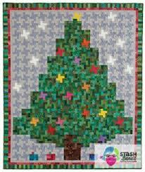 My Little Christmas Tree Quilt » Stash Bandit &  Adamdwight.com