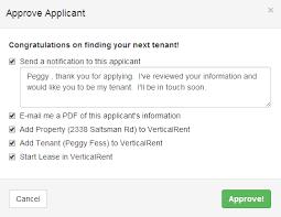 approve applicant v=2