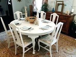 distressed dining room furniture white distressed dining table round with 6 queen chairs wash white distressed