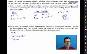 extraordinary algebra word problems test in mon core algebra i unit 2 lesson 5near word