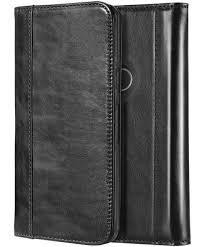 procase google pixel 2 xl genuine leather case vintage folding flip case