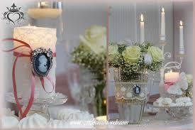 Tischdeko Hochzeit Kerzenleuchter