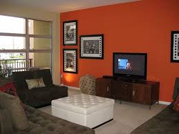 Accent Wall In Living Room like bedroom dark orange accent wall living roomden ideas 8604 by xevi.us