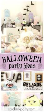 Be spooked by this fabulous Spook Pastel Halloween party! The cakes are  incredible!