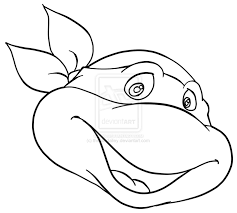 Small Picture Coloring Pages Tmnt Coloring Pages Lineart Tmnt Coloring Pages